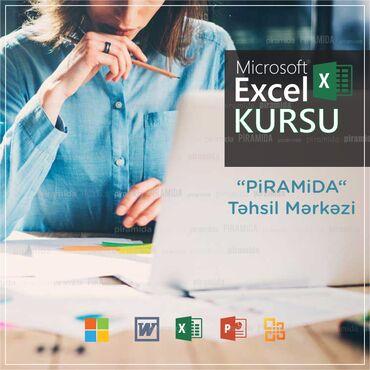 excel proqrami - Azərbaycan: Kompüter kursları | Microsoft Office | Oflayn