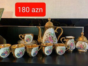 cay daslari satilir in Azərbaycan | QAB-QACAQ DƏSTLƏRI: Çay dəsti satılır