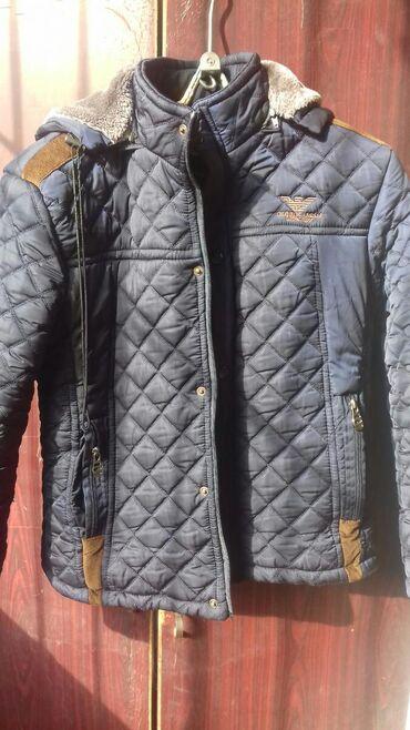Куртка на мальчика в отличном состоянии,Российская.На 10-14 лет