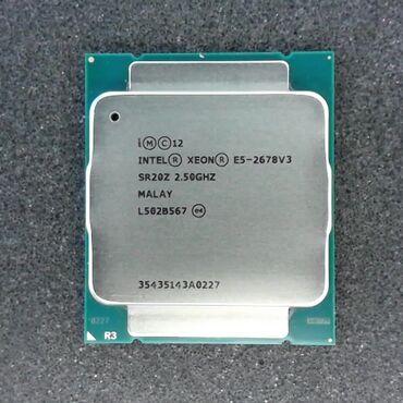 Xeon E5-2678V3 сокет 2011v3 12 ядер-24 потока !Отличный процессор для