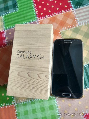 Samsung galaxy s4 32gb  super vəziyyətdə hərşeyi üstündə verilir в Сумгайыт