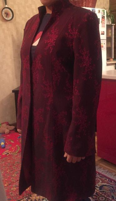 Продам кардиган, в идеальном состоянии, размер 48-50, бордовый в Бишкек