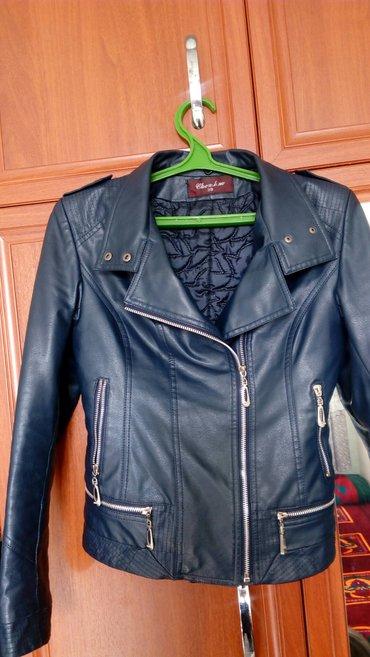 Продаю женскую коженую куртку, размер в Бишкек