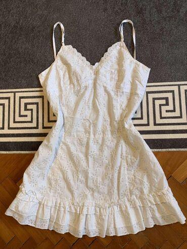 Slatka bela haljinica, velicina s
