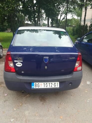 Plinska boca - Srbija: Dacia Logan 1.4 l. 2006 | 340000 km