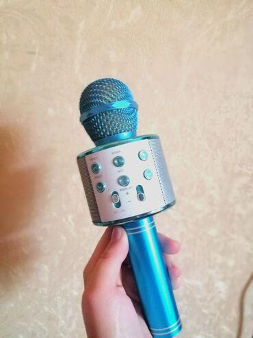 Продаётся караоке микрофон, можно и использовать как блютуз калонка