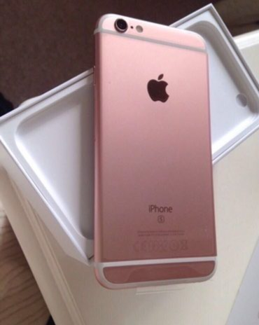 Продаю iphone 6s 16gb rose gold в Бишкек