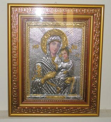 Εικόνα της Παναγίας σε κάδρο με τζάμι σε Athens