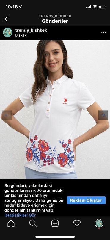 shikarnoe-vechernee-plate-v-pol в Кыргызстан: Us Polo футболка новый с этикет S/M в наличии