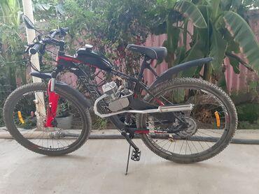 80cc motor - Azərbaycan: Matorlu velosiped 29luq 11skarsnoy alminum karakas 80cc mator suret