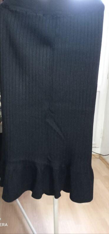 Новая юбка, трикотаж.М-размер.350сом.Турция
