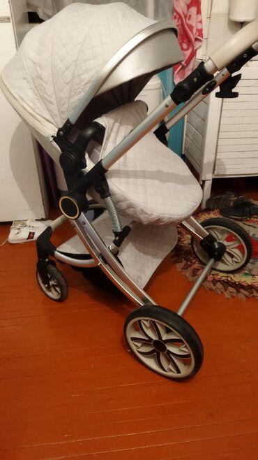 Детский мир - Боконбаево: Коляска трансформер 2в1 в идеальном состоянии