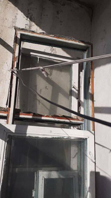Б/у окно двери