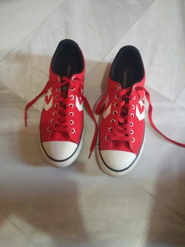 Converse κοκκινα. 2 φορες φορεμενα. νούμερο σε Paloukia
