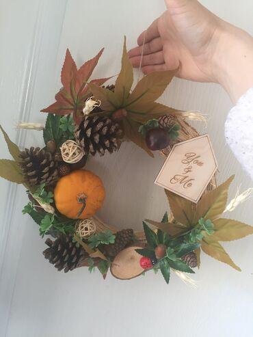 Vencic Jesen! Trajna dekoracija za Vas dom. Rucni rad