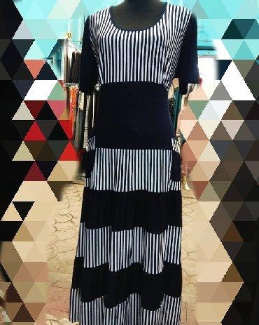 трикотажные платья турция в Кыргызстан: Платье трикотажное хб . Производство Турция оптом и в розницу . Цена