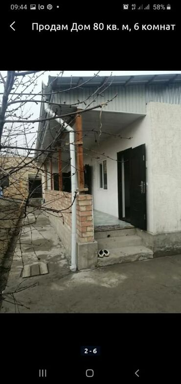 8 мер в Кыргызстан: Продаю дом, арча- бешик, не достроенный 2эт дом, врем 4 ком, участок5