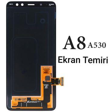 zapchasti audi a8 в Азербайджан: Samsung A8 2018 Ekranların Temiri