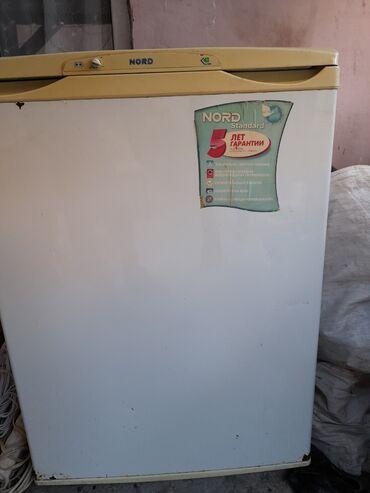 Витринный холодильник для мяса - Азербайджан: Б/у Однокамерный Белый холодильник Nord