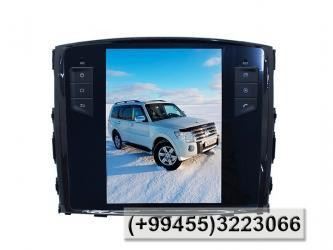 Bakı şəhərində Mitsubishi Pajero üçün TESLA monitoru.Bundan başqa HƏR NÖV AVTOMOBİL