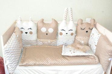 Бортики игрушки в кроватку для в Бишкек