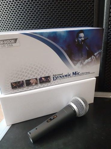 Bakı şəhərində Mikrofon H-vocal. Şunurlu mikrofon vokal, instrumental,