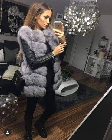 Krzneni prsluci - Srbija: Novooo  Krzneni prsluci  S.M.L.XL Cena: 3.800 din