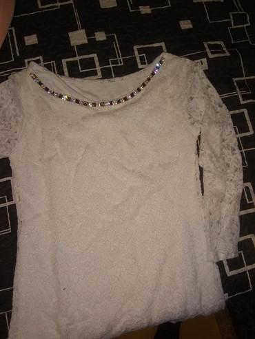Haljina-cipkasta - Srbija: Cipkasta bela bluza.hit