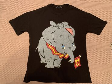 Футболка ZARA Dumbo Disney Collectionразмер S, oversize - можно и М
