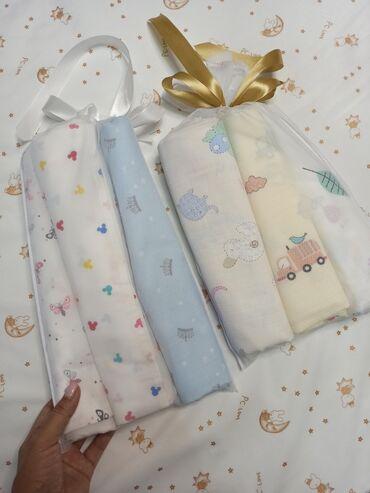 Пеленочки наборы (муслиновые и сатиновые), размер 1.10/1.20 см. Цена