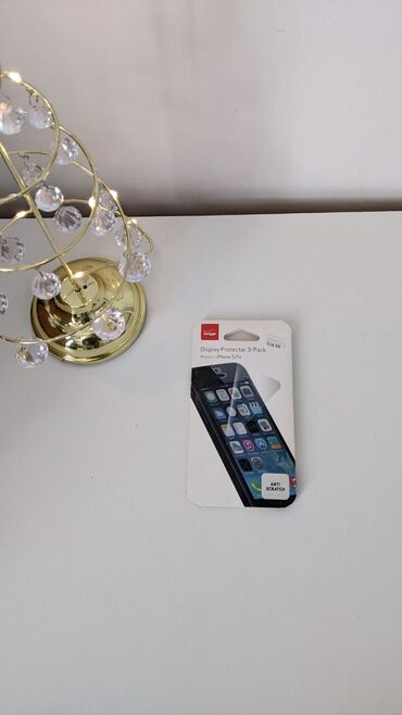 защитные стекла в Кыргызстан: Защитное стекло - 3 штуки- для iPhone 5/5s с США. Стоило $15