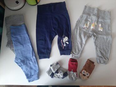 брендовые одежды в Кыргызстан: Пакет одежды! Штаны и ползунки для малышей на рост 62-68-74 см. Все в