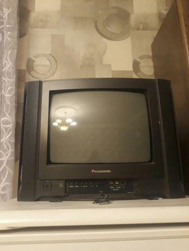 Panasonic televizor satilir 50 azn tam islekdir problemi yoxdur. Unvan
