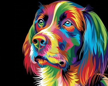 Slikanje po brojevima 3 (platno + akrilne boje + četkice) - Zrenjanin