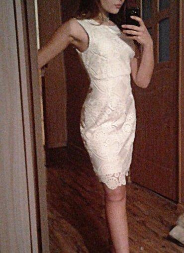 Белое кружевное платье от KOTTON. размер в Бишкек