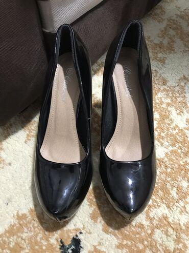 Туфли чёрные 10см. Носила только один раз