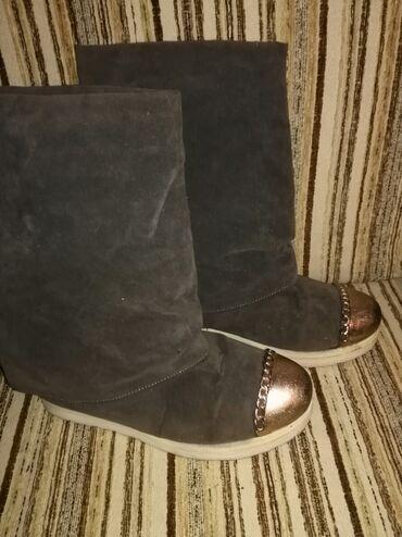 Ženska obuća | Zrenjanin: Miš sive cizme, br 38
