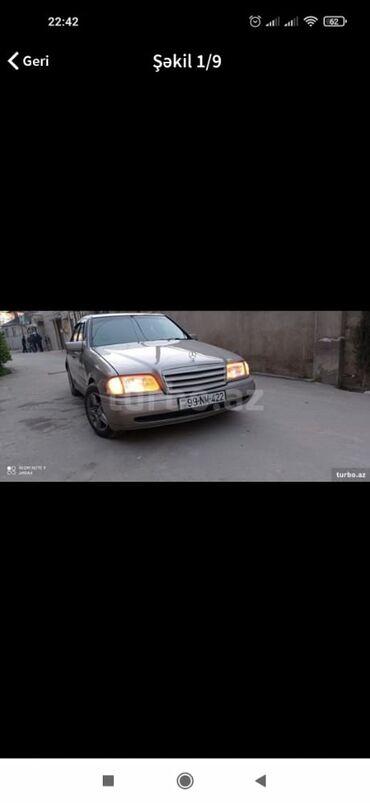 87 elan   NƏQLIYYAT: Mercedes-Benz C 180 1.8 l. 1997   96000 km