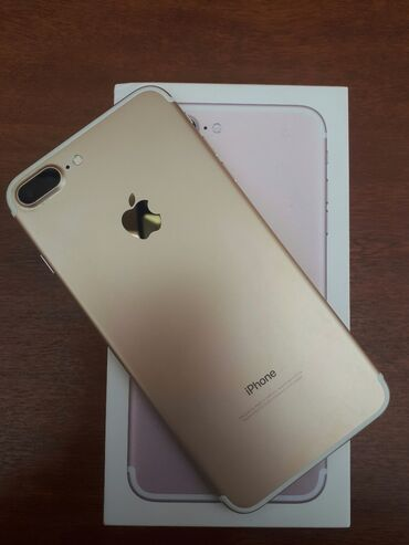 toy ucun qizil komplektler в Азербайджан: Apple Ipohne 7 plus Roze Gold Kutusu adapteri nauwneki var