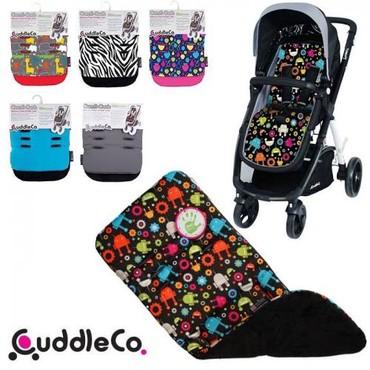вязаные вещи для детей в Кыргызстан: Распродаю новые двусторонние матрасики для колясок Cuddle co