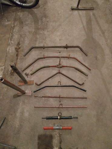 Турники, тяги разные, крючки, железный пояс и тд тп!
