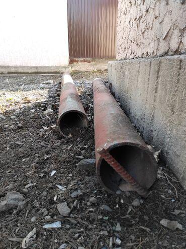 Трубы железные длина 2.76 и 2.70 толщина железа 1 см диаметр 17 см