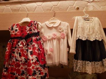 Детские нарядные платья в идеальном в Бишкек