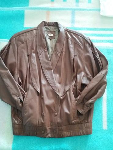 Zenska kozna jakna od izuzetno kvalitne koze u braon boji. Jakna jako - Belgrade