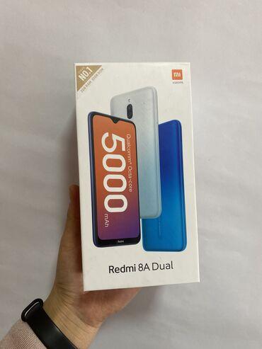 Мобильные телефоны - Бишкек: Новый Xiaomi Redmi 8A 32 ГБ Черный