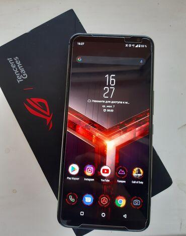 Asus ROG Phone II   128 ГБ   Черный Б/у   Две SIM карты, Face ID, С документами