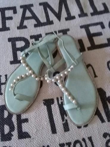 Prelepe sandale MELLISA,kvalitetne,vidi slike,jednom nosene 38 broj,ja - Sombor