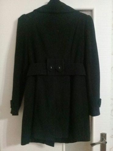 Продаю пальто черное, в идеальном в Бишкек