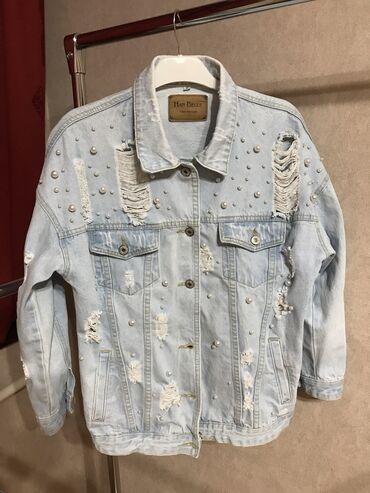 Джинсовая куртка как новая