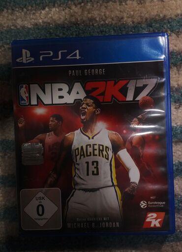 Igrica za ps4 NBA2K17